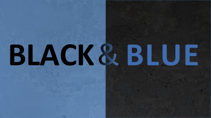 Black & Blue: A Sermon for July 10, 2016