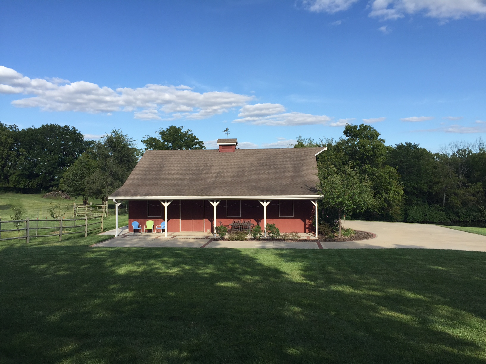 Matlack's barn & grounds