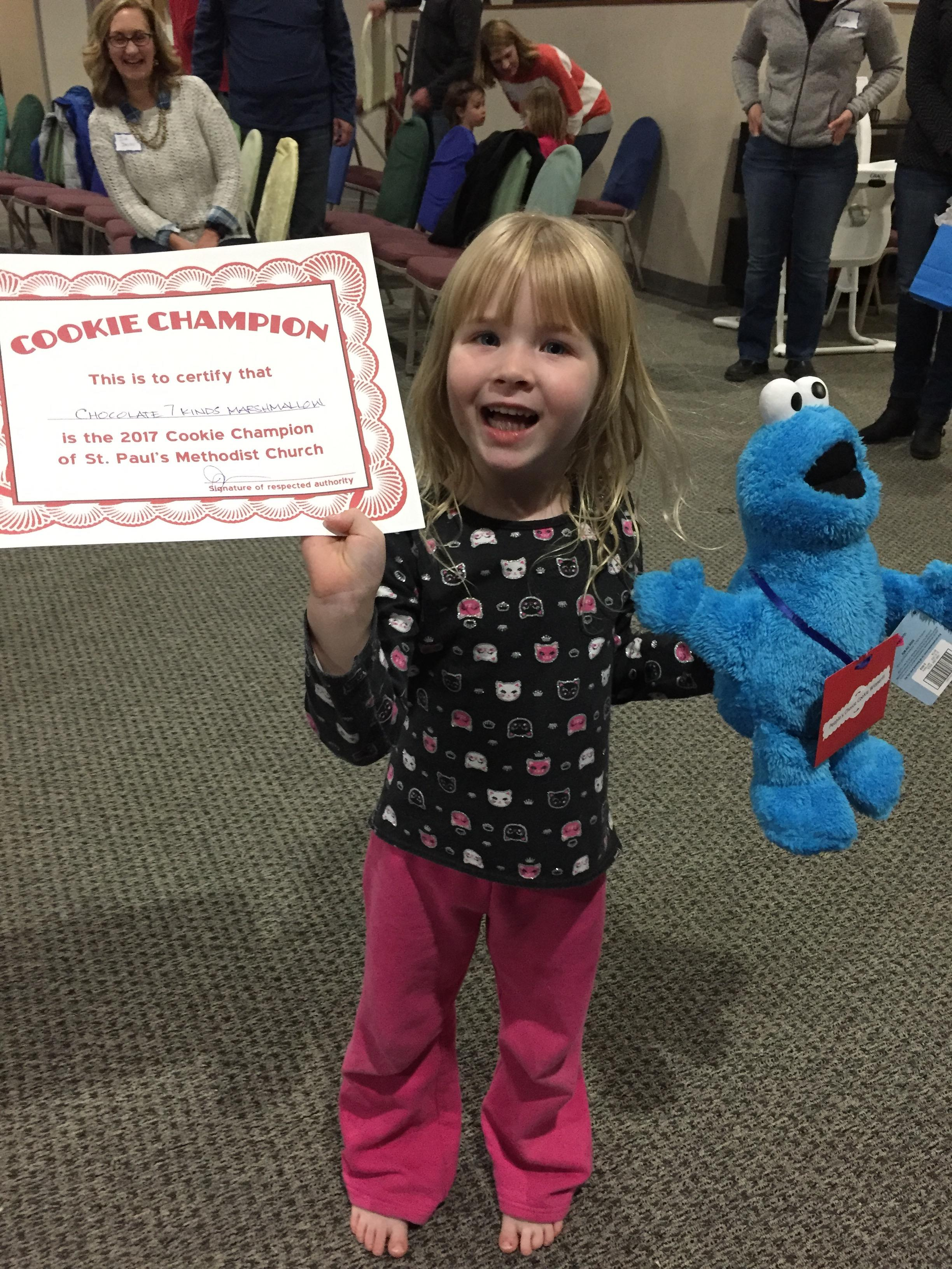 Sarah O'Shea: Kids Cookie Award Winner