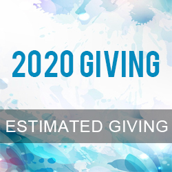 2020 Estimated Giving Form
