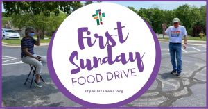 First Sunday Food Drive